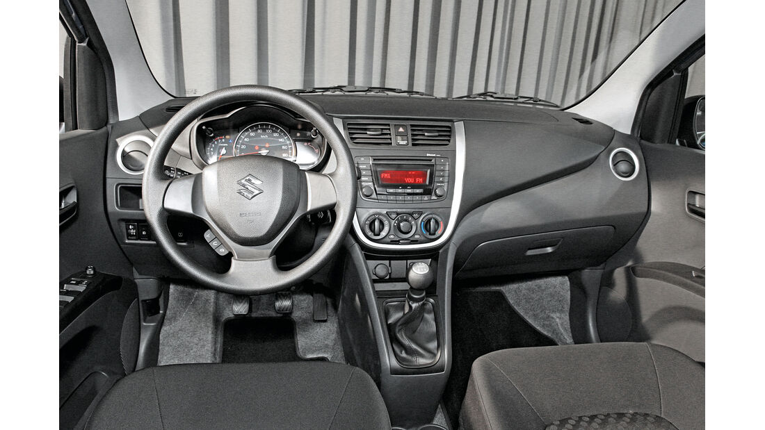 Suzuki Celerio, Cockpit