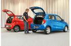 Suzuki Celerio, Kia Picanto, Heckklappe