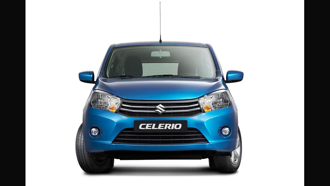Suzuki Celerio Sperrfrist 6.2.2014 9.00 Uhr