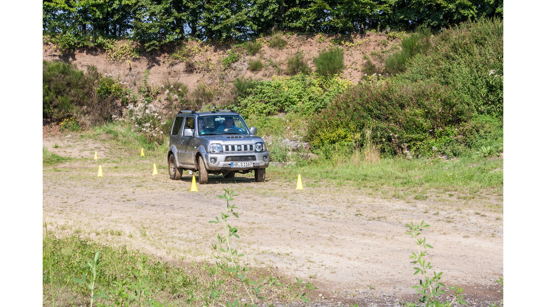 Suzuki Drive 2 the elements Offroad Jimny
