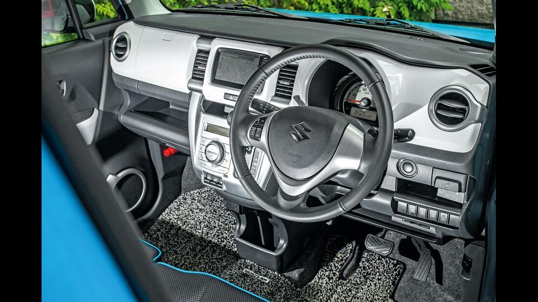 Suzuki Hustler X Turbo 4WD, Cockpit