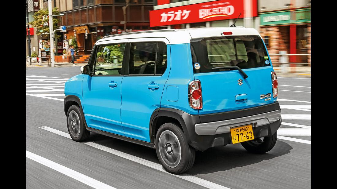 Suzuki Hustler X Turbo 4WD, Heckansicht