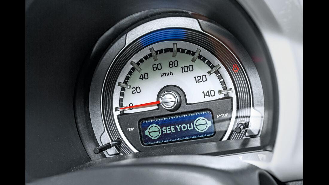 Suzuki Hustler X Turbo 4WD, Rundinstrument