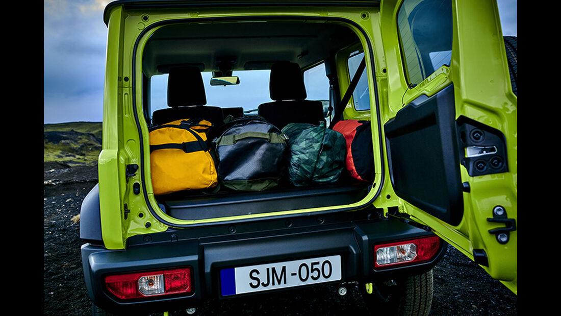 Suzuki Jimny 2018 Weltpremiere