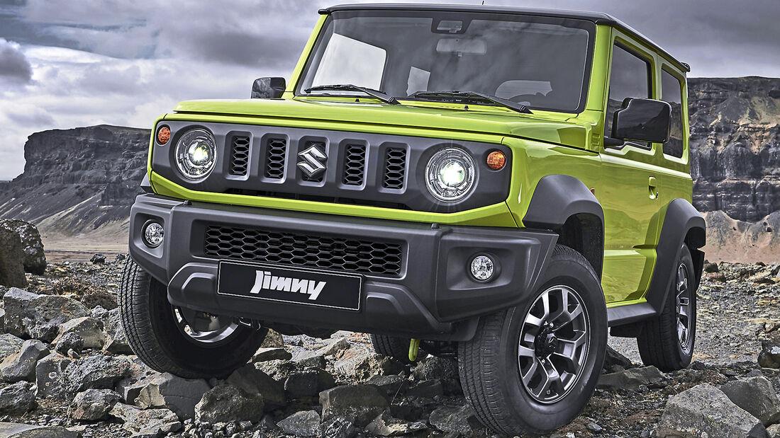 Suzuki Jimny, Best Cars 2020, Kategorie I Kompakte SUV/Geländewagen