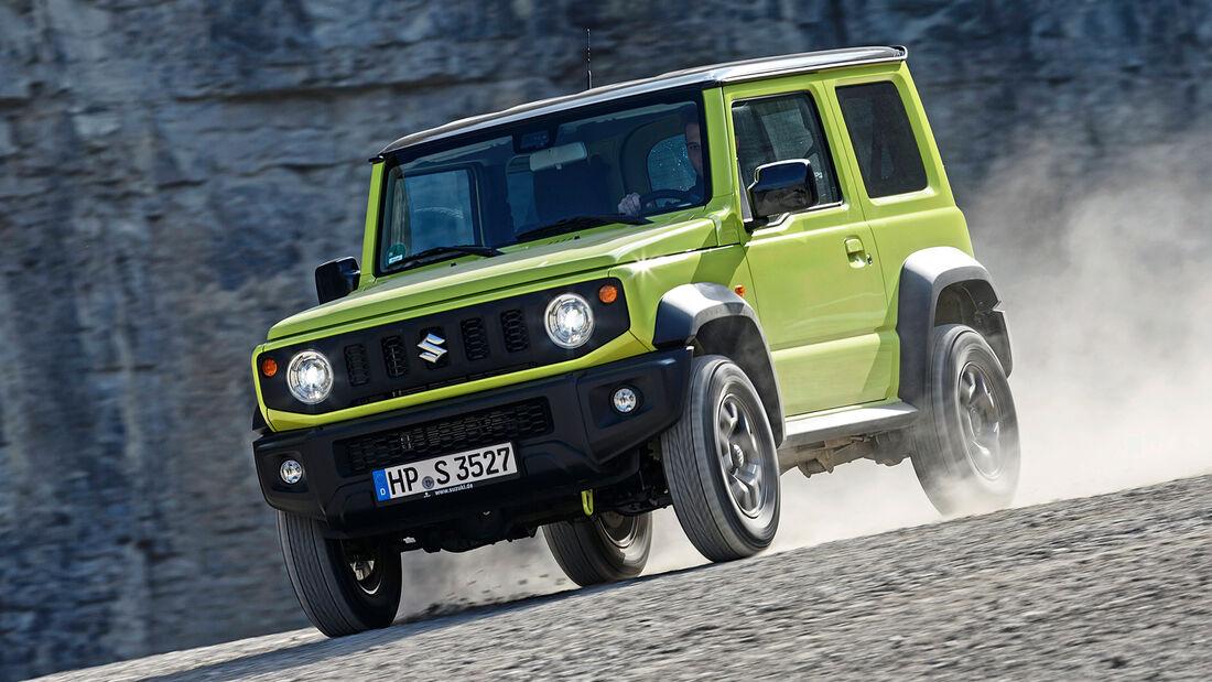 Suzuki Jimny, Exterieur