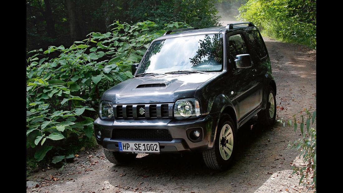 Suzuki Jimny Facelift 2012