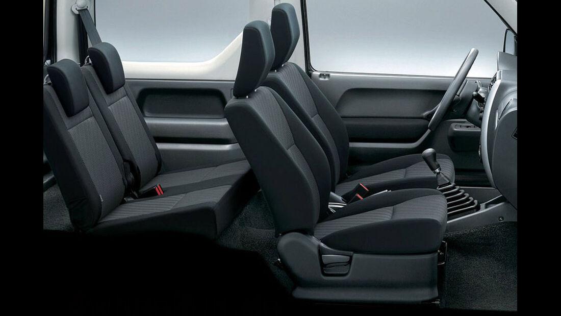 Suzuki Jimny Facelift 2012/2013