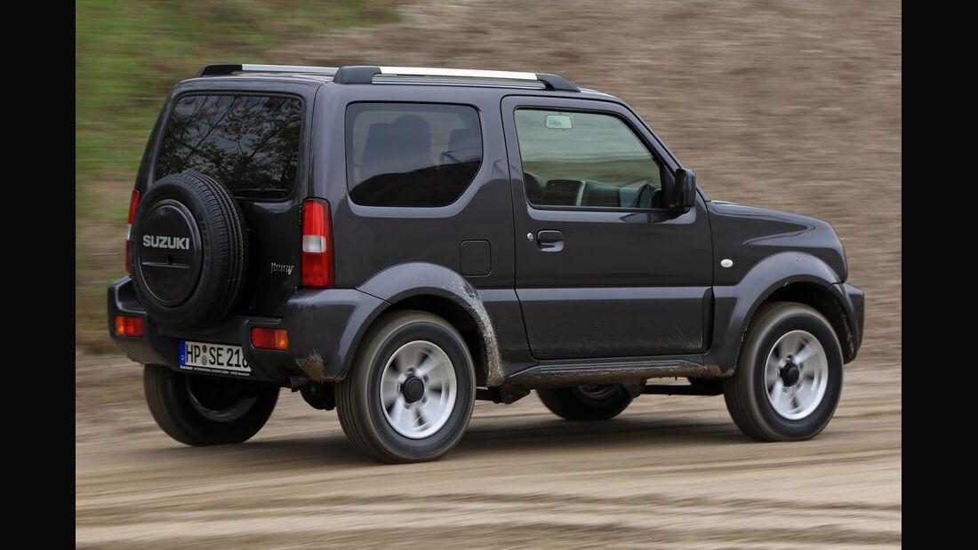 Suzuki Jimny, Heckansicht