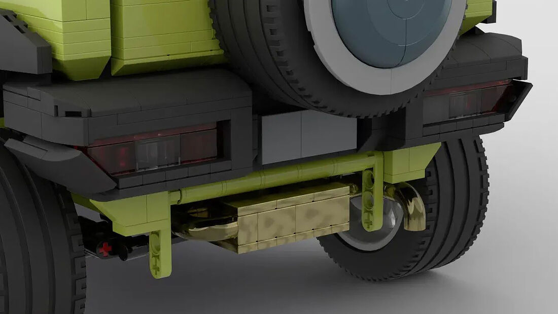 Suzuki Jimny Lego Ideas