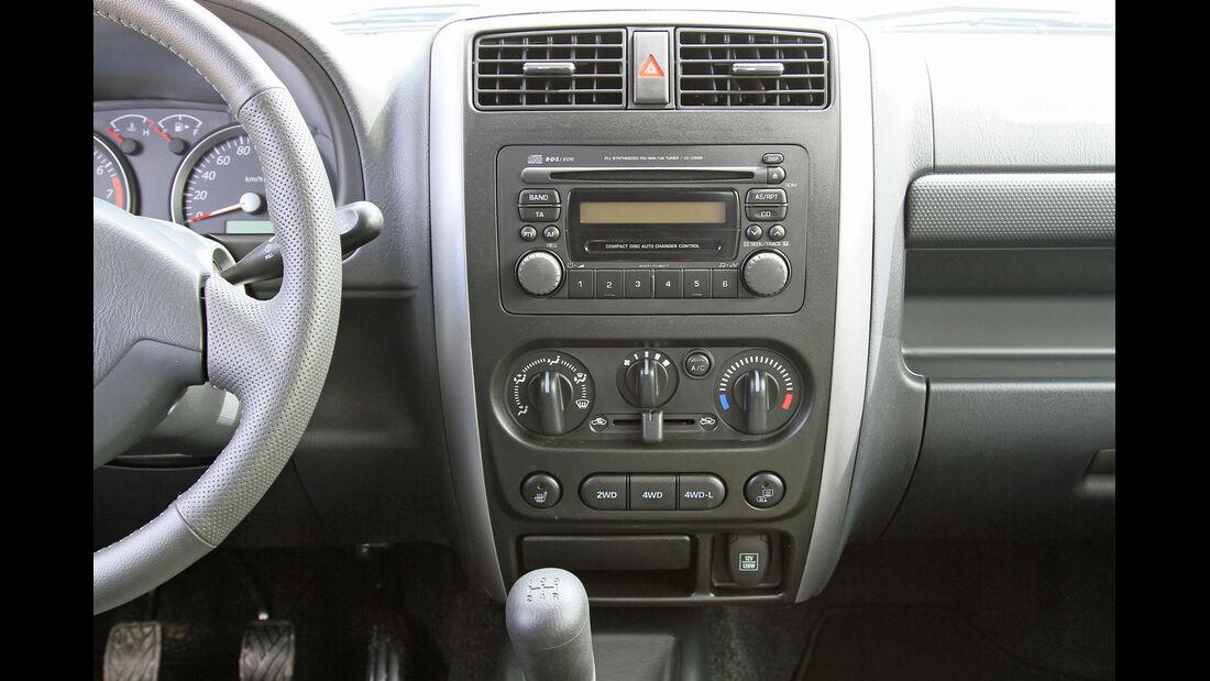 Suzuki Jimny, Mittelkonsole