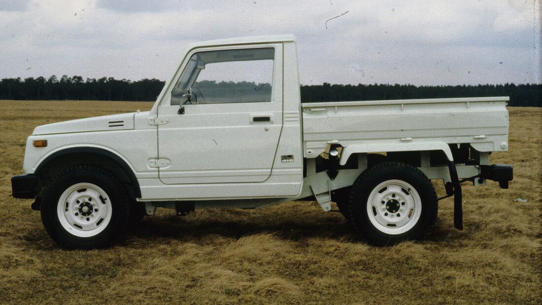 Suzuki Jimny Pickup Neuseeland