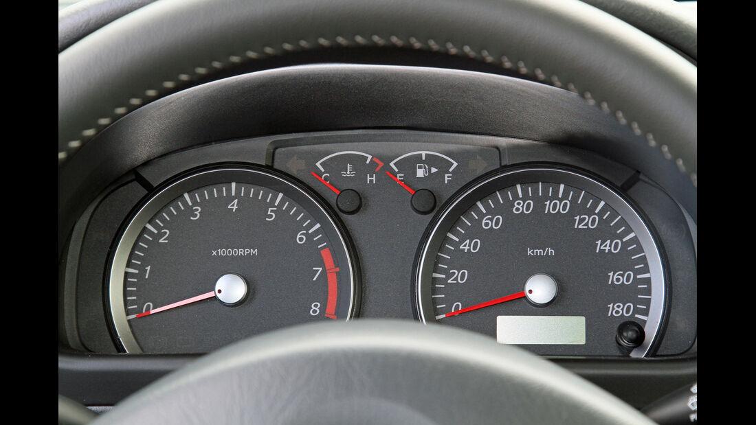 Suzuki Jimny, Rundinstrumente