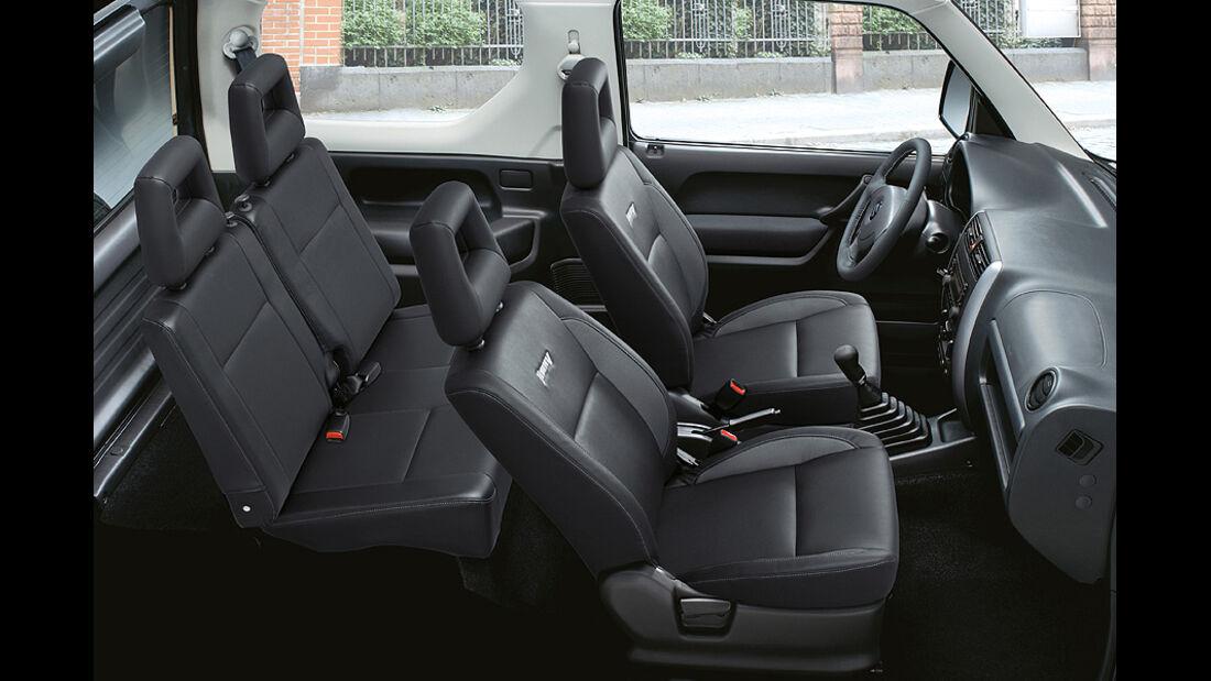 Suzuki Jimny Sondermodell Style, Innenraum