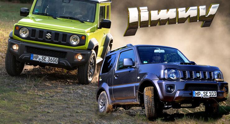 Suzuki Jimny Vergleich alt neu