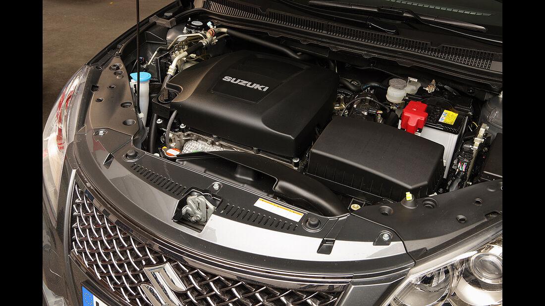 Suzuki Kizashi 4x4, Motor