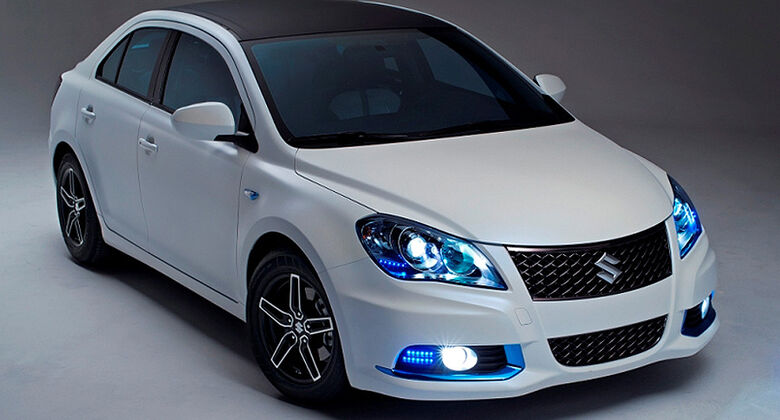 Suzuki Kizashi EcoCharge Concept Hybrid