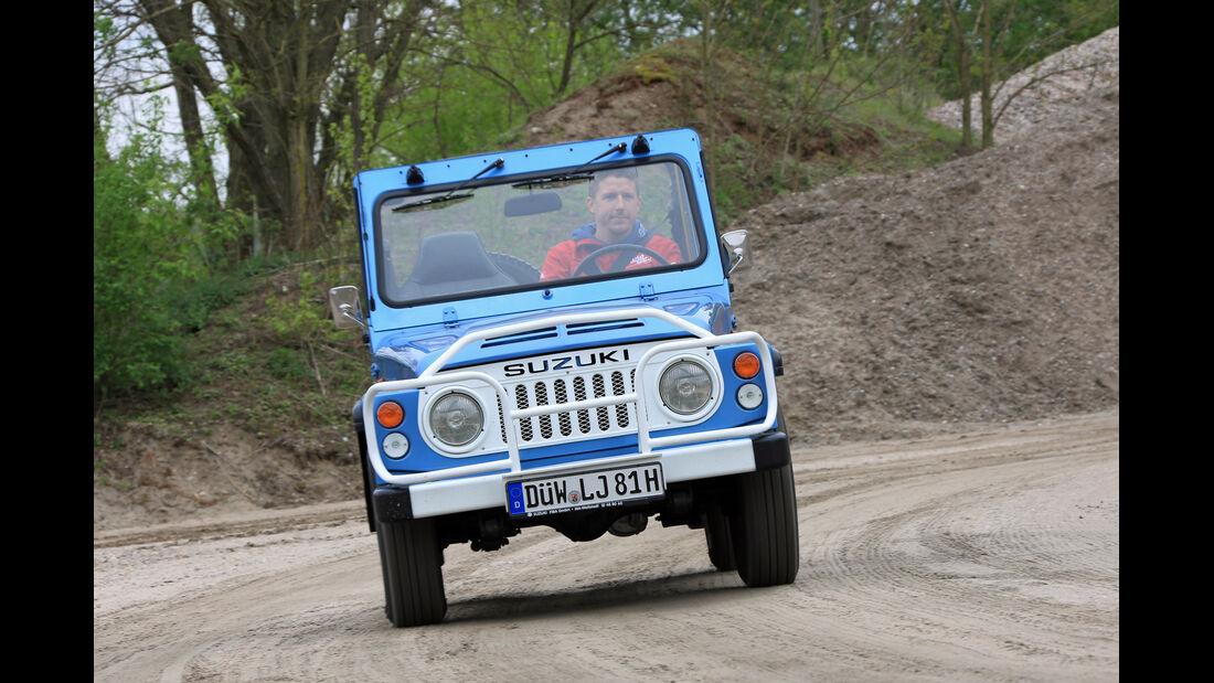 Suzuki LJ80, Frontansicht