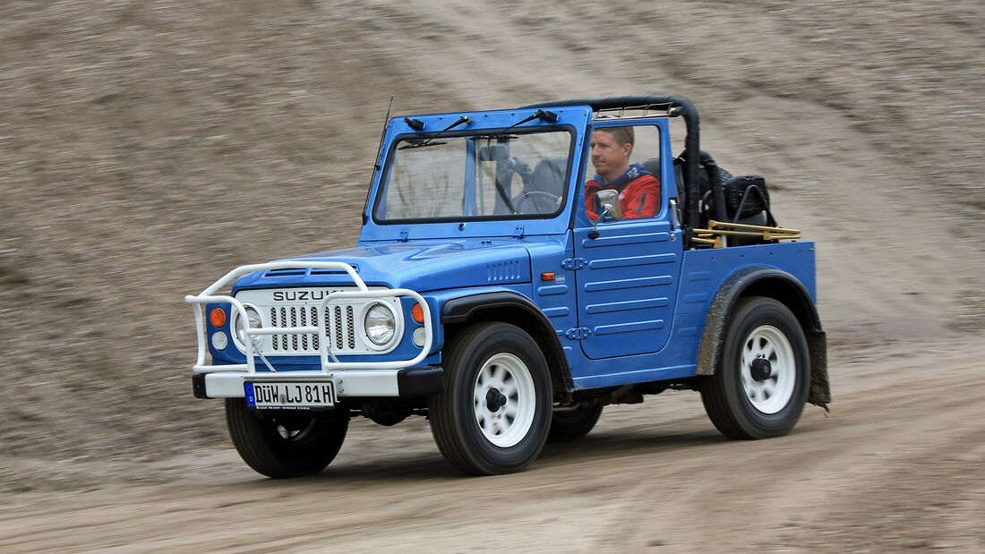 Suzuki LJ80, Japanische Trendsetter