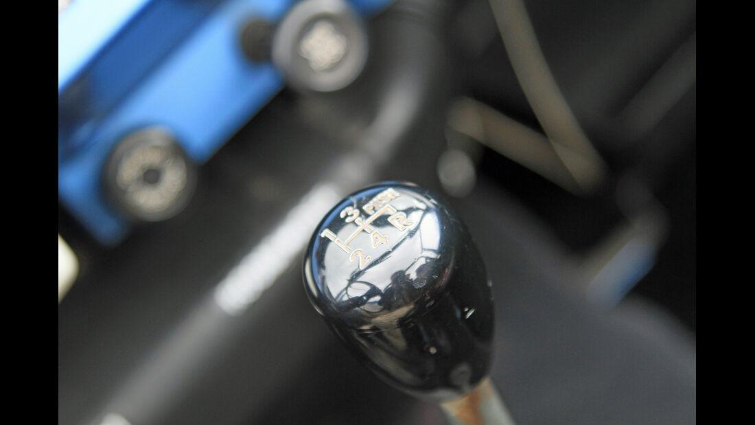 Suzuki LJ80, Schalthebel