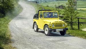 Suzuki LJ80 erster Testbericht auto motor sport 1980