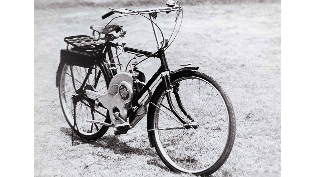 Suzuki Power Free erstes Motorrad 1952
