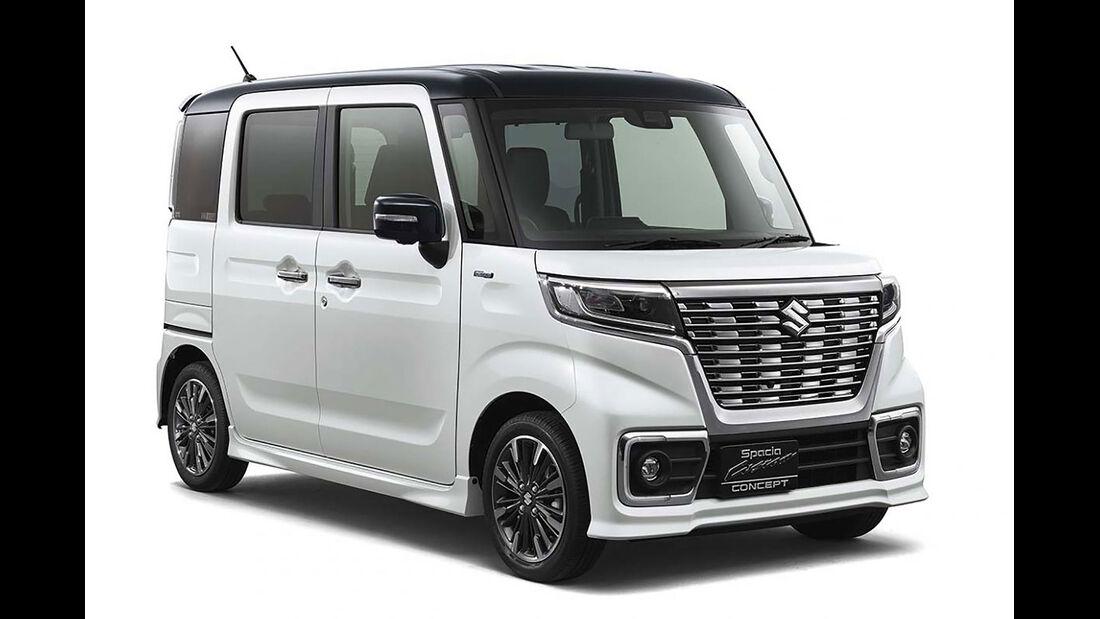 Suzuki SPACIA CUSTOM  CONCEPT Tokyo Motor Show 2017