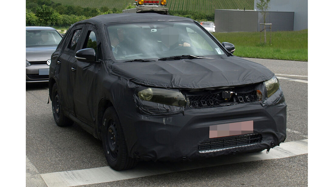 Suzuki SUV Erlkönig