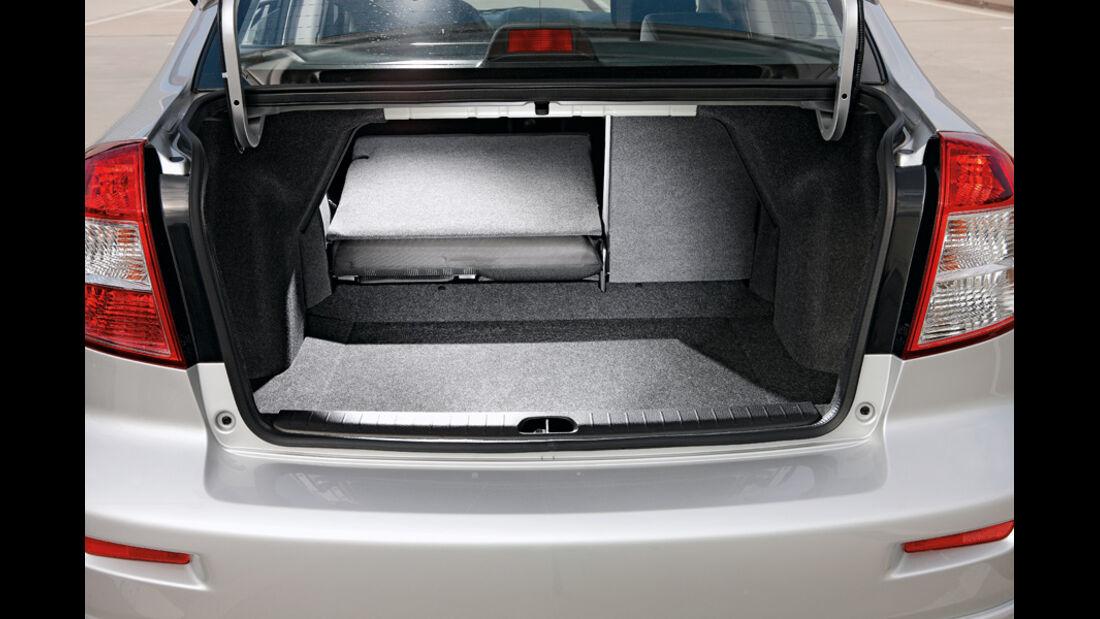 Suzuki SX 4, Kofferraum