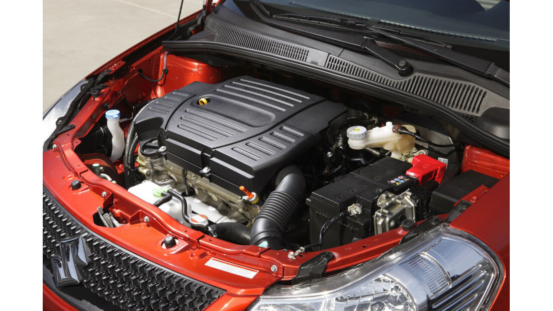 Suzuki SX 4, Motor, SUV