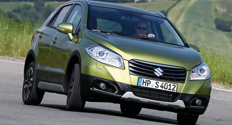 Suzuki SX4 1.6D, Frontansicht