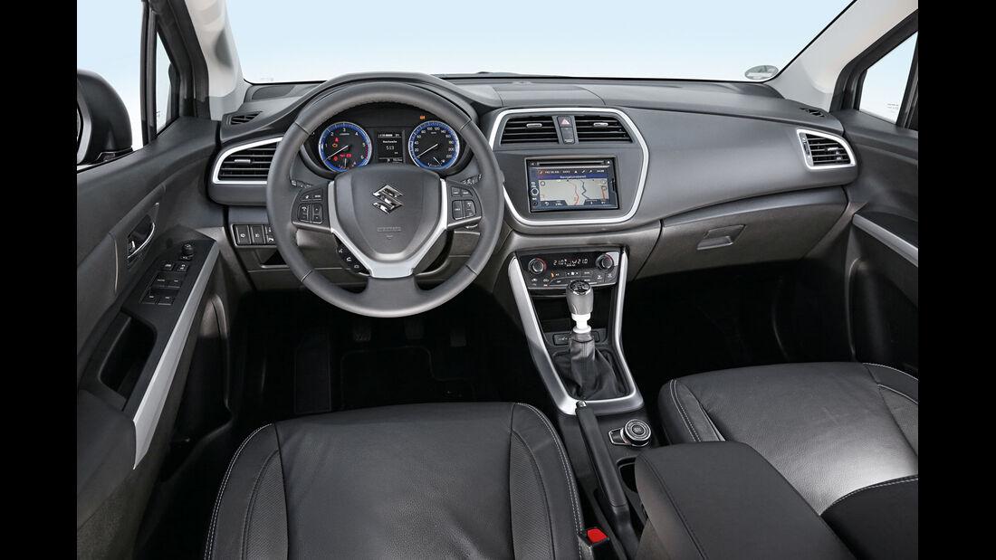 Suzuki SX4 S-Cross 1.6 DDi S 4x 4, Cockpit