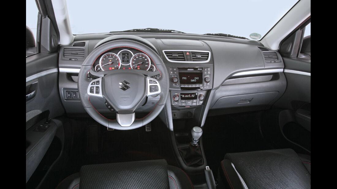 Suzuki Swift 1.6 Sport, Cockpit