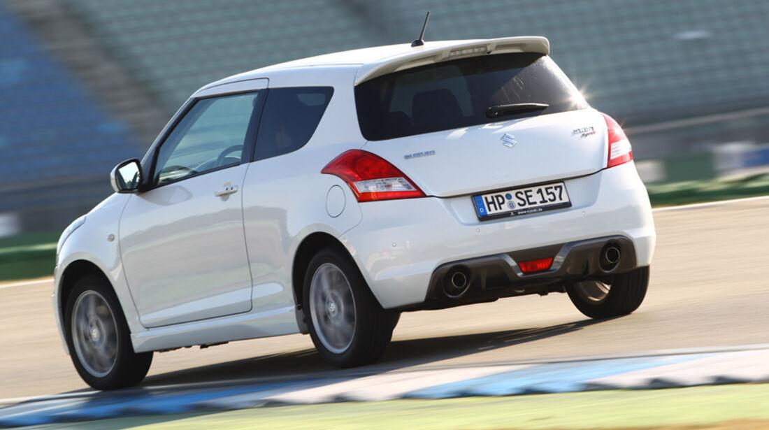Suzuki Swift 1.6 Sport, Heck