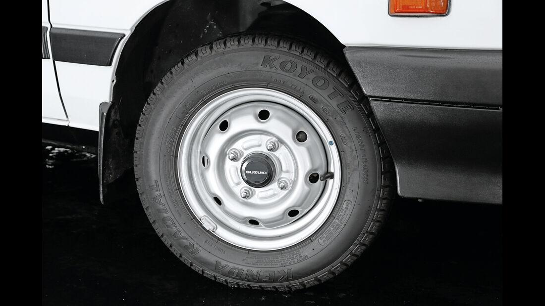 Suzuki Swift, 1983, Rad, Felge