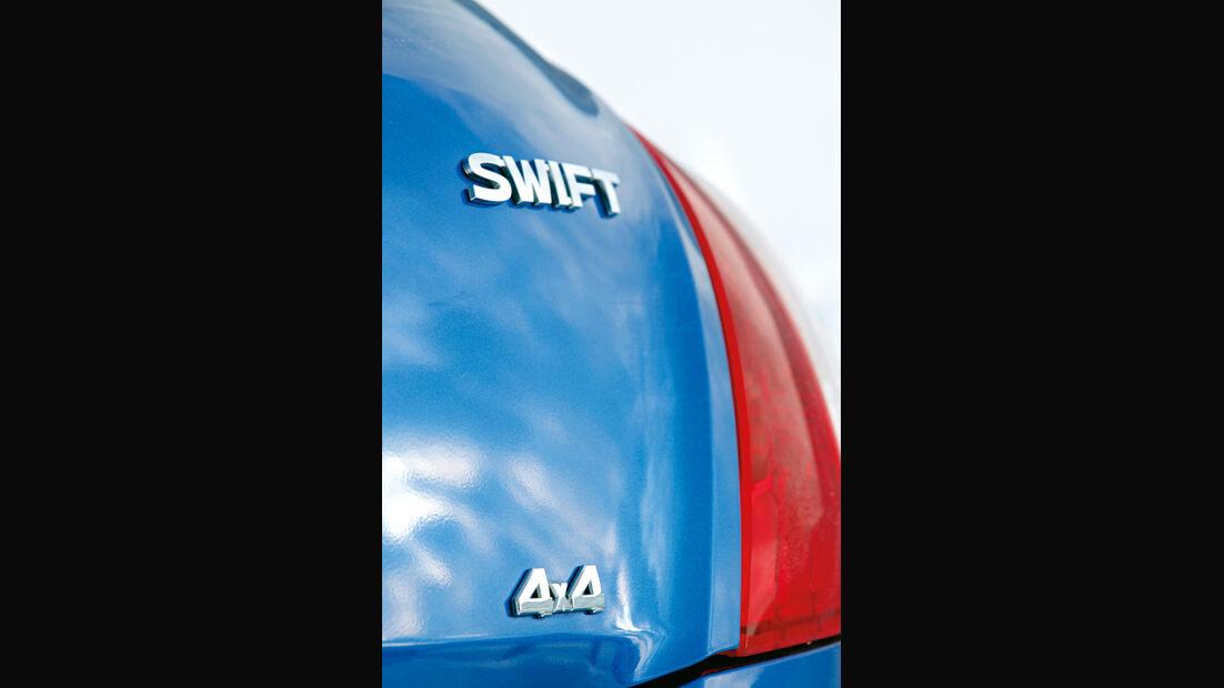 Suzuki Swift, Allrad, Typenbezeichnung