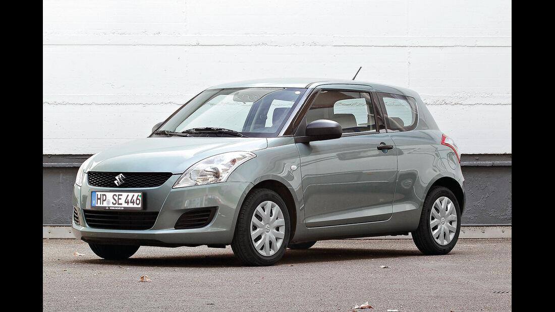 Suzuki Swift Basic, Seitenansicht