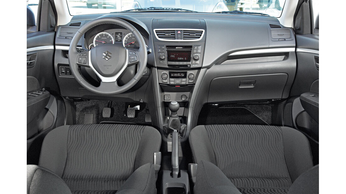 Suzuki Swift, Cockpit, Lenkrad