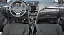 Suzuki Swift, Cockpit, Lenkrad