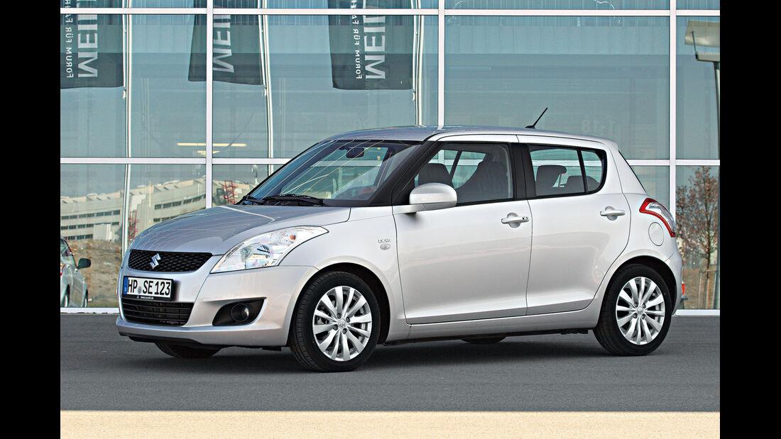 Suzuki Swift, Comfort, Seitenansicht