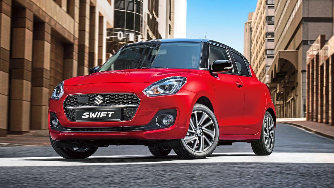 Suzuki Swift, Exterieur