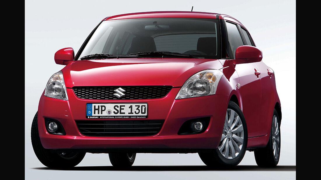 Suzuki Swift, Facelift 2010