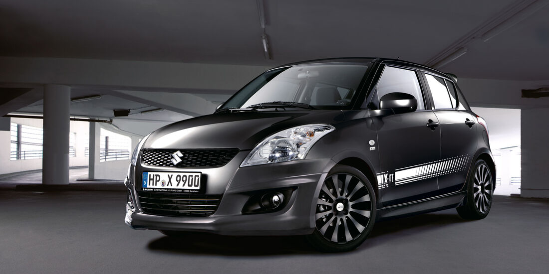 Suzuki Swift, Frontansicht