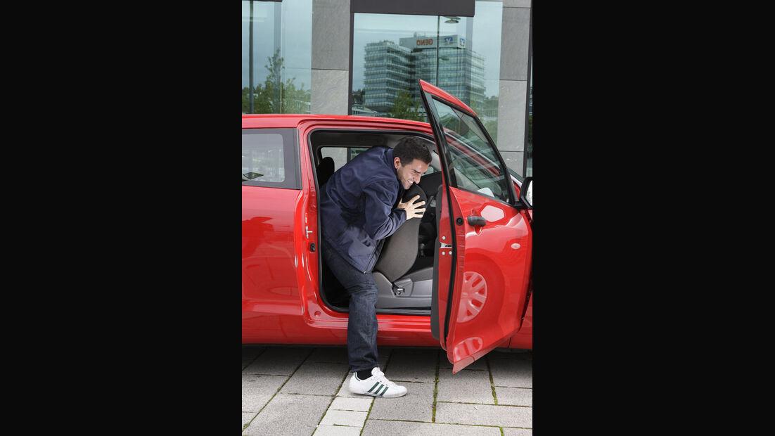 Suzuki Swift Kaufberatung, Fond, Einstieg