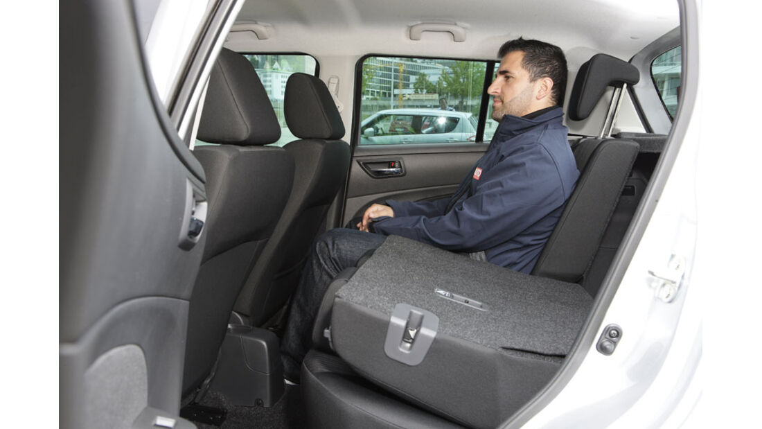 Suzuki Swift Kaufberatung, Fond, Rückbank