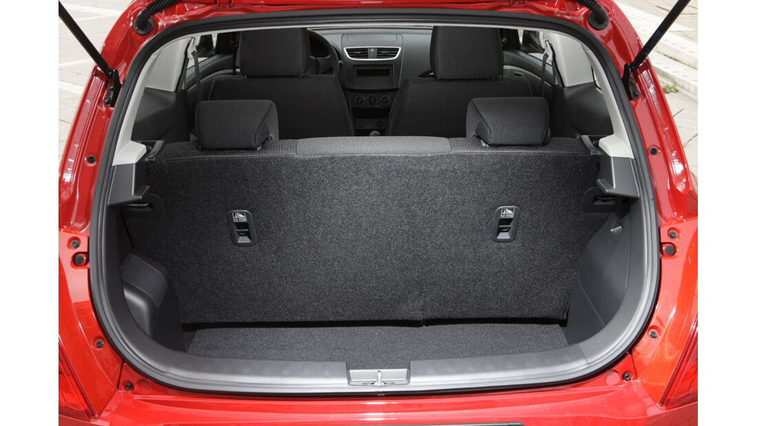 Suzuki Swift Kaufberatung, Kofferraum