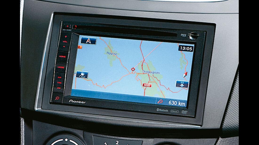 Suzuki Swift Kaufberatung, Navigationssystem