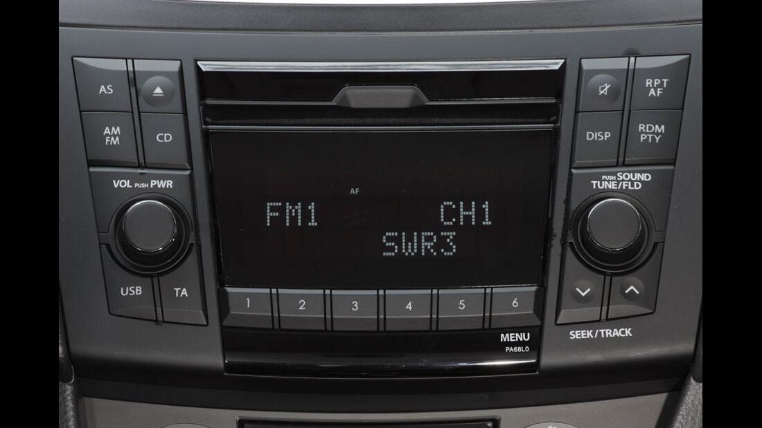 Suzuki Swift Kaufberatung, Radio