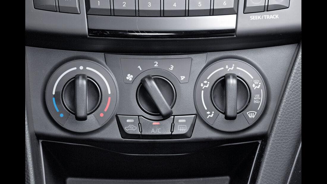 Suzuki Swift, Klimaanlage