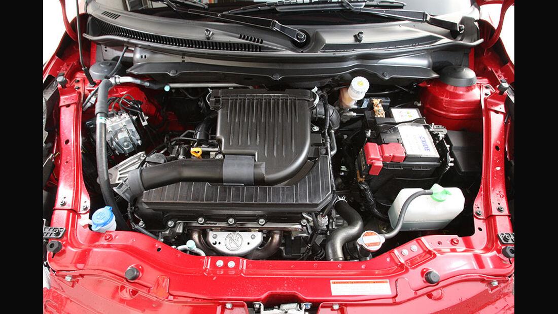 Suzuki Swift Motorraum